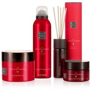 Continut set cadou mare Rituals The Ritual of Ayurveda