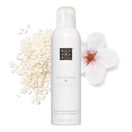 Gel de duș spumant Ritual of Sakura 200ml