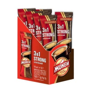 Cafea 3in1 Jockey Strong